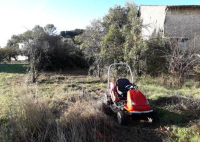 Débroussaillage et nettoyage sur le Gard et l'Hérault
