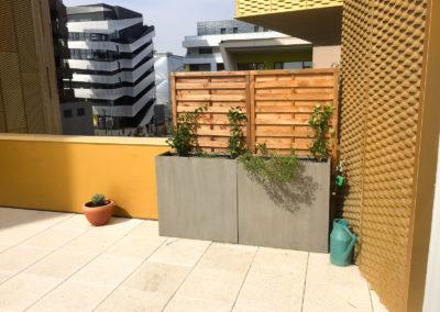 Création d'espaces verts dans le Sud de la France