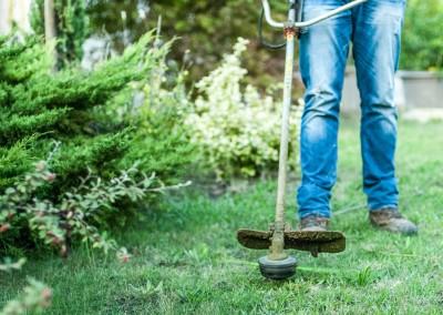 Travaux de débroussaillage dans votre jardin sur le Gard et l'Hérault