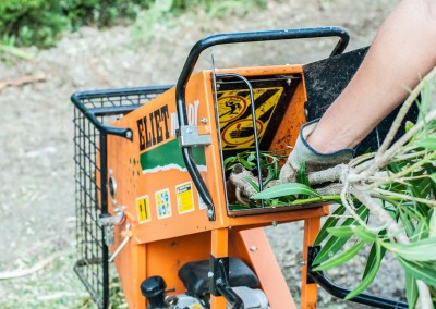 Broyage de vos branches et branchages et évacuation, par nos soins, de vos déchets verts