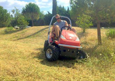 Travaux de débroussaillage sur le Gard et l'Hérault