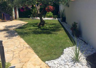 Création de pelouses et de jardins secs