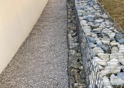 Création d'un mur en Gabion